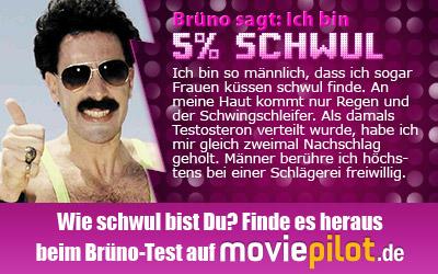 Zum Brüno-Test bei der Film-Community moviepilot