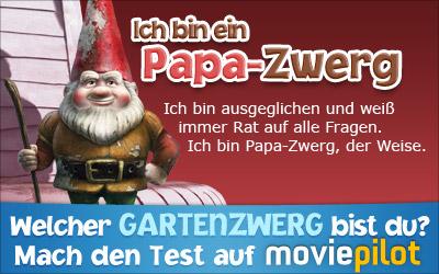 Was für ein Gartenzwerg-Typ bist du? Mach den Gnomeo und Julia-Test bei der Film-Community moviepilot