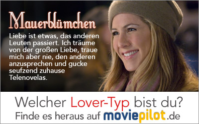 Welcher Lover-Typ bist Du? Mach den Test bei der Film-Community moviepilot