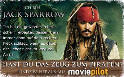 Welcher Pirat bist du? Spiel das Pirates of the Caribbean - Fremde Gezeiten-Quiz bei moviepilot