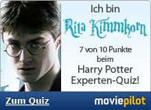 Zum Harry Potter Experten-Quiz bei der Film-Community moviepilot