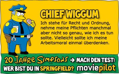 Welche Figur bist du aus Springfield? Mach den Simpsons-Test bei der Film-Community moviepilot
