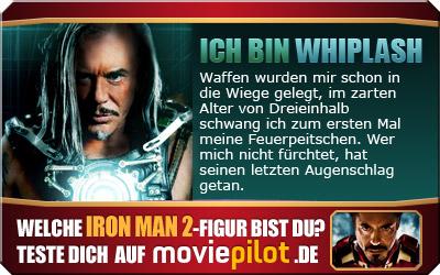 Wer bist du in Iron-Man 2? Finde es heraus im Persönlichkeit-Test bei moviepilot